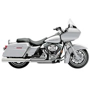 Cobra Exhaust System Powerpro HP Chrome; 07-08 FLH/T