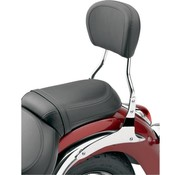 Cobra Sissy Bar runden Kurz 14 Zoll, Chrom - Softail