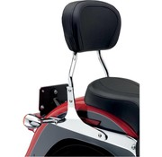 Cobra sissybar   round 14 inch Chrome - Dyna