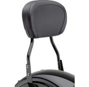 Cobra sissybar   round 14 inch Black - Dyna