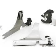 sissybar afneembare zijplaten - Sportster XL