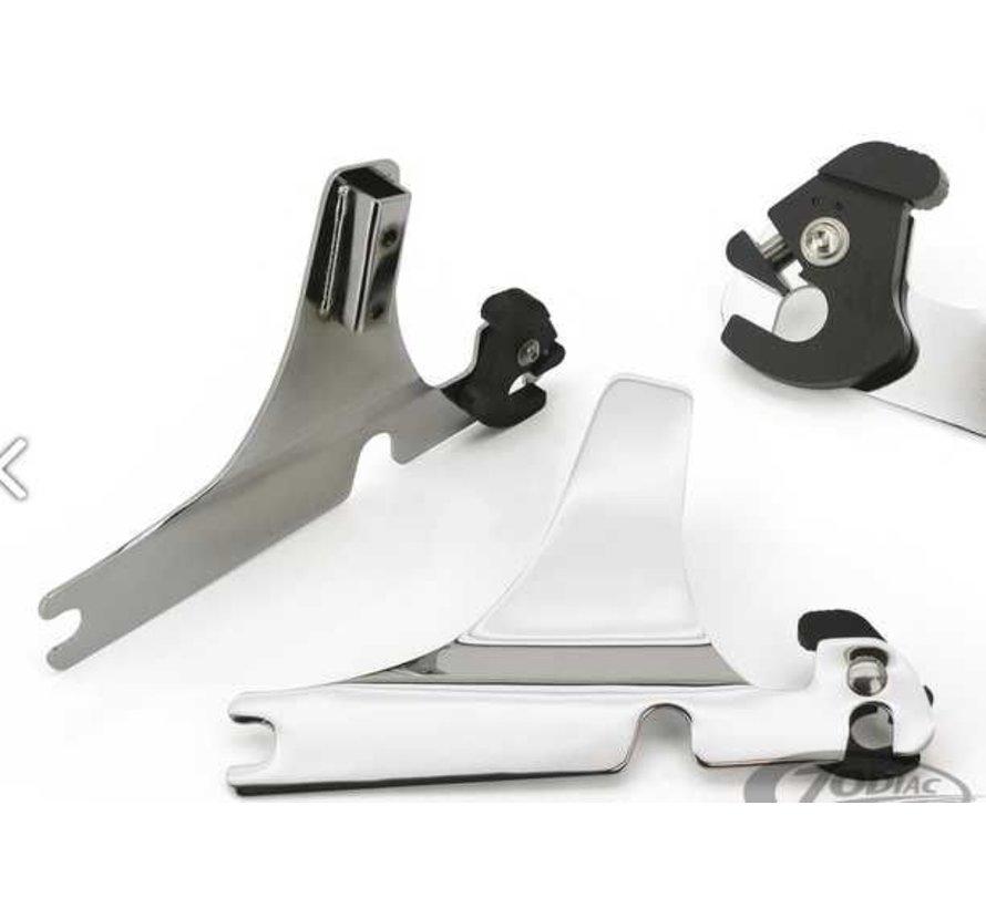 Harley Davidson abnehmbare Sissybar Seitenplatten - Sport