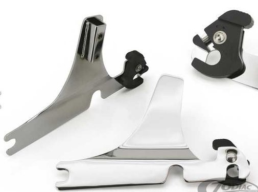 sissybar  detachable side plates - Dyna