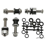 sissybar Docking kit de hardware placas laterales desmontables - Dyna