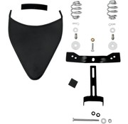 Primavera asiento y el equipo de montaje frontal bolt-on Acero Negro 04-06 y 10-16 XL Sportster
