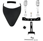 Spring Seat et kit de montage avant vissé en acier noir 96-16 Dyna