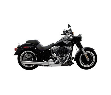 Supertrapp SUPERMEGS 2 in 1 Chrome - Softail 1990-2006