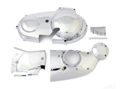 MCS Engine   Sportster XL dress-up Chrome trim kit: Fits:> 91-03 Sportster XL