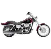 Cobra Exhaust System Speedster Long with Powerport, Chrome; For all 06 - 11 Dyna models