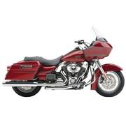 Cobra Harley uitlaatpijpen chroom met powerport; voor 10-16 FLHT / FLHR / FLHX / FLTR en H-D FL Trike