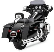 Cobra Système d'échappement 2 en 1 Chrome; Pour 10-16 FLT, FLHT, FLHR, FLHX, modèles FLTR
