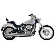 Cobra Uitlaatsysteem Speedster Long chroom hitteschilden; Voor Softail 2007-2011