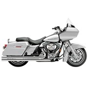 Cobra Exhaust system Speedster Long Chrome heat shields; For FLH/T 1995 - 2006