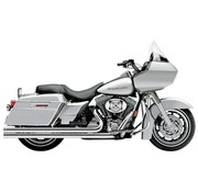 Cobra Exhaust system Speedster Long Chrome heat shields; For all 07‑08 FLT/ FLHT/ FLHR/ FLHX/ FLTR models
