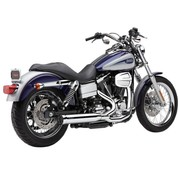 Cobra Exhaust system Power Pro HP 2 into 1 chrome; For all 06-11 Dyna models
