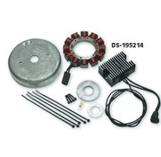 Cycle Electric Charging Altenator kits - HD 84 -03 - for Adding electrical accessories needs increases amperage