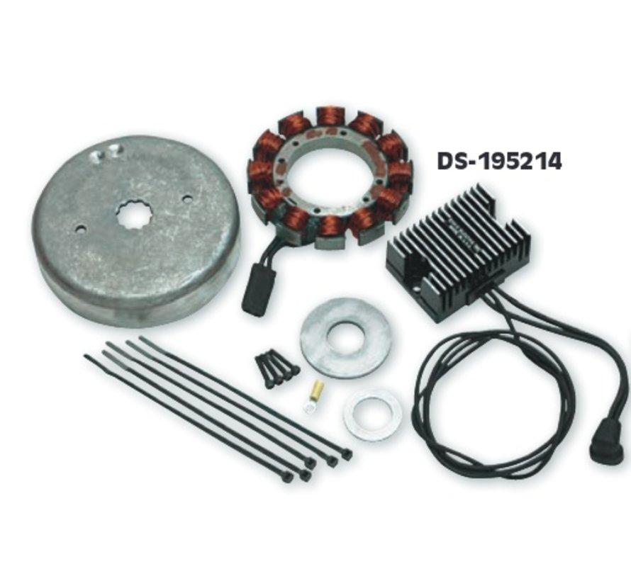 Altenatorkits opladen - HD 84-03 - voor het toevoegen van elektrische accessoires heeft een hogere stroomsterkte nodig