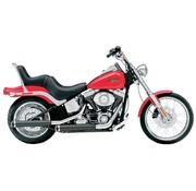 Cobra exhaust Slip-On Muffler - Black Fits:> 07-16 FLSTF Fatboy