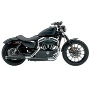 Cobra exhaust Slip-On Muffler - Black 04-13 Sportster XL