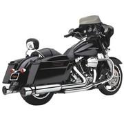 Cobra Slip-On Schalldämpfer Rennen-Pro, Chrome für 95-16 FLHT / FLHR / FLHX / FLTR Modelle