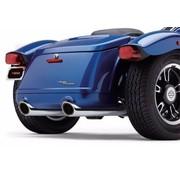 Cobra exhaust Slip-On Muffler - Chrome for Freewheeler