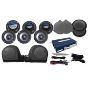 Hogtunes Harley audio Speakers 6 AMP; FLHTK
