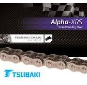 Tsubaki chain drive 530 XRS ALPHA 0-ring Chains Rear
