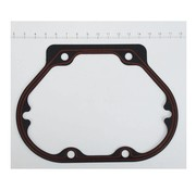 James Engine Transmission end cover - gasket silicone; fits 99-06 Bigtwin