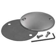 TC-Choppers Point cover radius smooth - Chrome