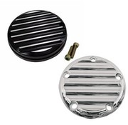 Joker Machine Point cover finned Fits:> 1970-1999 Evo 1999-up Twincam and Sportster XL 86-14