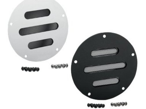 primary derby cover  - slot black or Chrome for 70-13 Big Twin