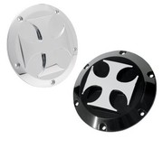 NYC Choppers primary derby cover billet aluminum black or Chrome Fits:> 1970-2013 Big Twin 04-14 Sportster XL