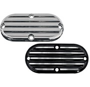 Joker Machine primary inspection cover - finned for for 65-06 Big Twins and 86-up FXST/FLST FXWG and 93-05 FXDWG
