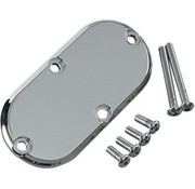 Joker Machine primary inspection cover - smooth for for 65-06 Big Twins and 86-up FXST/FLST FXWG and 93-05 FXDWG