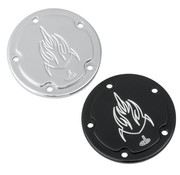 Carl Brouhard Design Point cover cam - linkshandig voor 84-13 Twincam en 04-13 Sportster XL