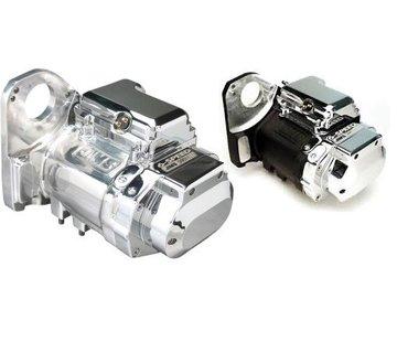 Jims transmissie 6-speed overdrive - gepolijst of zwart voor Softail 91-99 (JIMS®CASE)