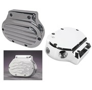 Joker Machine transmission  cover - Chrome for 87-06 FLT/FLHT FXST FLST and FXD/FXDWG (EXCEPT 06 Dyna GLIDE)