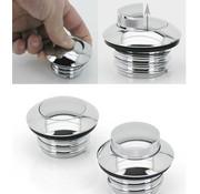 gas tank gas cap pop-up screw-in style