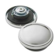 Gas-Mütze-Set - Chrom