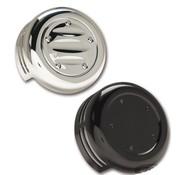 Arlen Ness Hornabdeckungen schwarz oder chrom Passend für:> 93-20 Bigtwin, XL Sportster