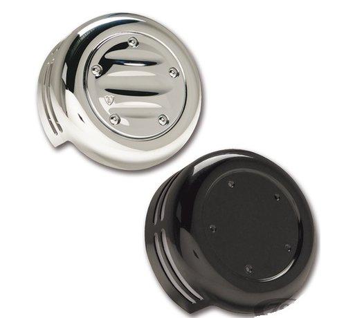 Arlen Ness Arlen Ness Horn Abdeckungen schwarz oder chrom Passend für:> 93-20 Bigtwin, XL Sportster