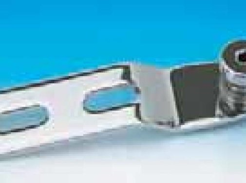 Colony seat solo rear mounting bracket with retained screw