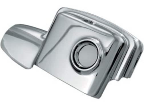 Kuryakyn brake rear master cylinder cover for 08-15 FLHT/FLHR/FLHX/FLTR without fairing lowers