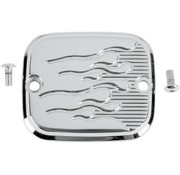 Joker Machine brake front/rear master cylinder cover - flame