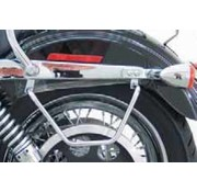 TC-Choppers bags saddlebag supports for 2006 to present Dyna