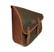 Longride bags waxed cotton swingarm bag