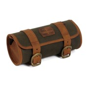 Longride bags waxed cotton tool roll bag