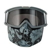 SHARK HELMETS raw mask and goggle kit camo