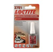 Loctite thread lockers: 2701 fluid 5cc
