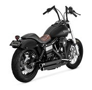 Vance & Hines exhaust Staggered with power chamber 2006-2017 Dyna (exclude FLD)
